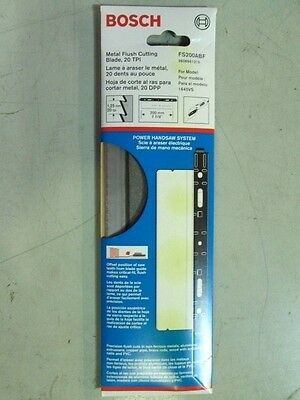 "Bosch Fs200Abu 7-7/8"" Flush-Cut 20 Tpi Power Handsaw Blade New In Package"