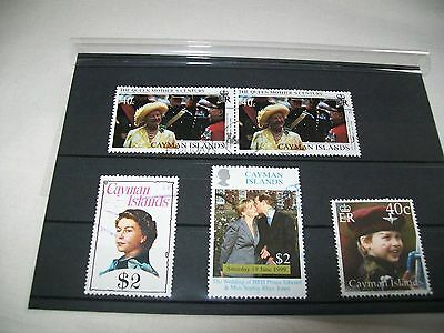 Cayman Islands, Royal Stamps