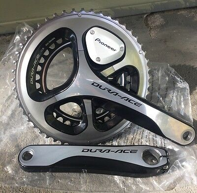 Shimano Dura Ace 9000 Pioneer SGY-PM910H2 Power meter 175mm 50x34 Rings