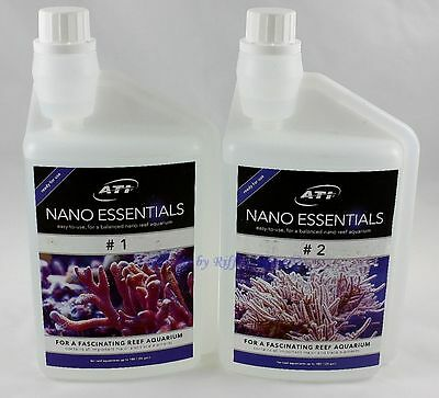 ATI Nano Essentials Set 2 x 1000ml Mineralien Spurenelemente Meerwasser 11,95€/L