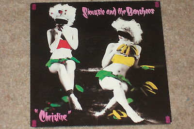 "Siouxsie And The Banshees ‎– Christine 7""      1980   EX CON!!"
