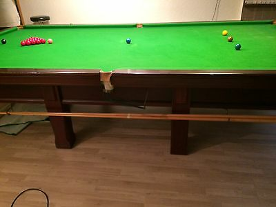 Full size snooker table