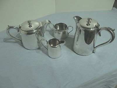 Vintage Silver Plated EPNS Tea/coffee Set With Tray