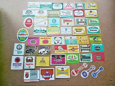 Beer Labels Collection: 50 Different- Old Germany Breweries