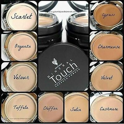 Younique Touch Mineral Cream Foundation - 6 Main Shades + Mystery Gift