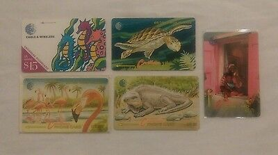 Rare Collectable Phonecards - British Virgin Islands - Superb Items