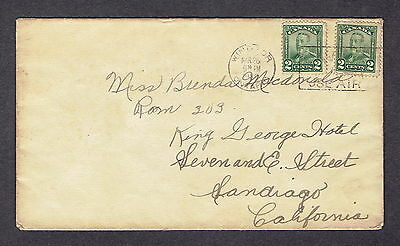 Canada  - 1929 - 2 Stamp Cover, Scott #'s  150