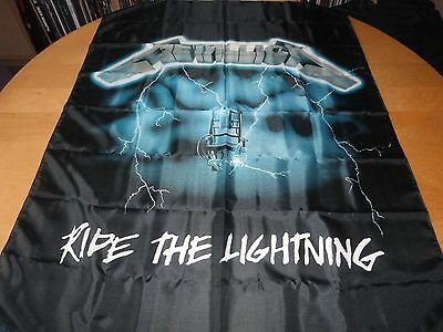 Metallica - Ride The Lightning (New) Textile Poster Official Band Merch