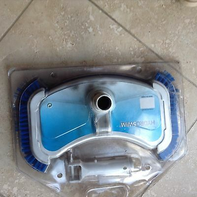 Hydroswim Weighted Butterfly Style Pool Vacuum Head with Side Brushes