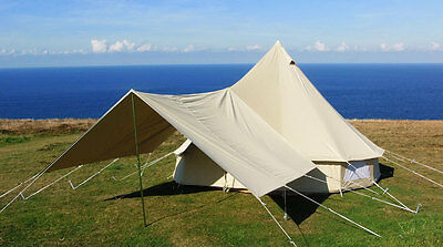 Large Awning for 5M Bell Tent