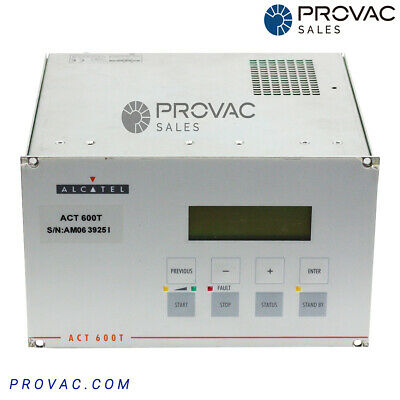 Alcatel/Adixen ACT-600T Turbo Pump Controller, Rebuilt By Provac Sales, Inc.