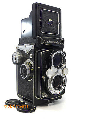 Yashica 635 Tlr Camera With 80Mm F3.5 Lens Very Good Condition