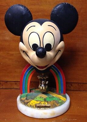 "Disney Ron Lee Earforce One Mickey Hot Air Balloon Statue 14"" X 8"" Very Rare"