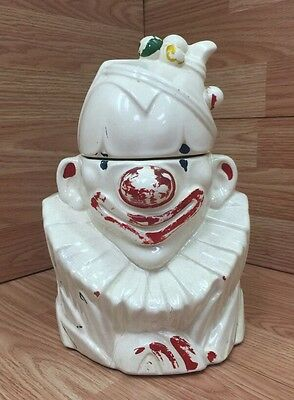 McCoy Clown Bust Cookie Jar