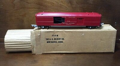 American Flyer 718 Operating New Haven Mail Pickup Car Boxed w/Liner
