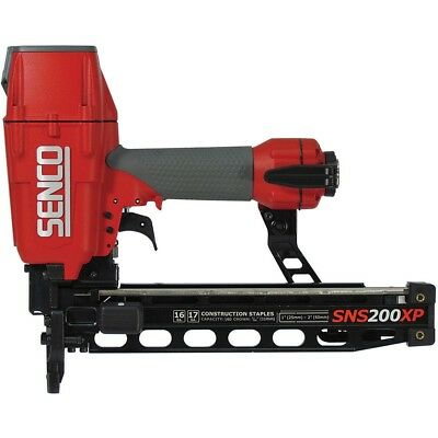 "Senco 7B0001N 17 to 16 Gauge 7/16"" Crown Construction Pneumatic Stapler"