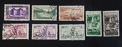 8 nice old used stamps Syria (02) / Syrie / سوريا