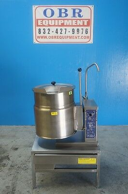 Cleveland 12 Gallon Electric Kettle With Stand Model Ket-12-T Mfg 2007