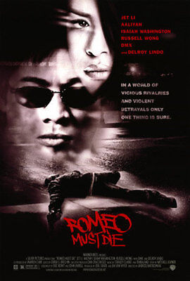 "ROMEO MUST DIE Double Sided Original Movie Poster 27""x 40"""