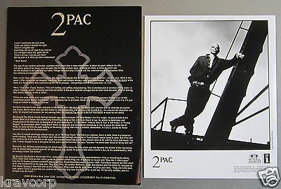 Tupac/2Pac 'Me Against The World' 1995 Press Kit--Photo