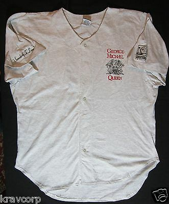 George Michael & Queen '5 Live' Rare 1993 Promotional Shirt