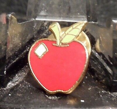 Preowned Red Apple Pin (61016)