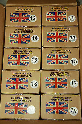 BRITISH ARMY MOD RATION PACKS Camping Ready Meals MRE Food Survival Hiking DofE