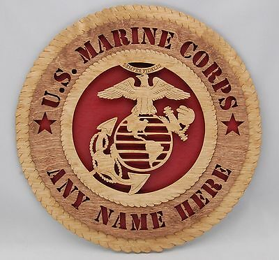 Personalized United States Marine Corp Wall Tribute / Plaque