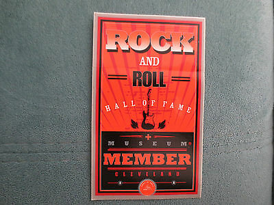 Rock and Roll Hall Of Fame backstage pass