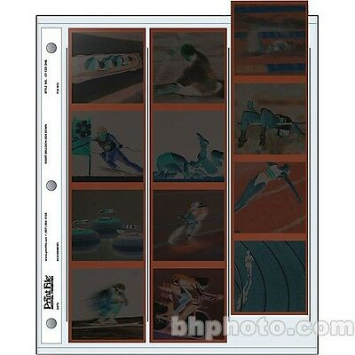 """Print File Archival 120 Size Negative Pages Holds Three Strips of Four 6 x 6"""""""