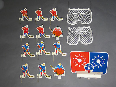 Vintage Metal Hockey Players Game Parts Goalie Nets