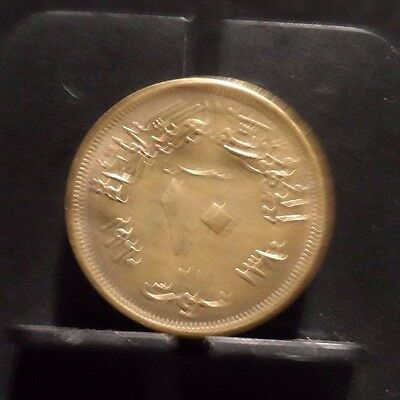 Circulated 1960 10 Mils Egyptian Coin (102016)1