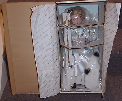 1990 Danbury Mint Shirley Temple 18 Inch Doll New In The Box