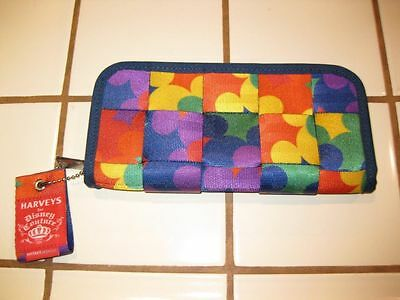 Disney Harvey Couture Mickey Pop Art Clutch Wallet NEW NEVER USED TAGS CARDS