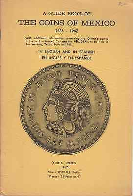 Mexico Book A guide book of the mexican coins 1536 1967 in english and spanish