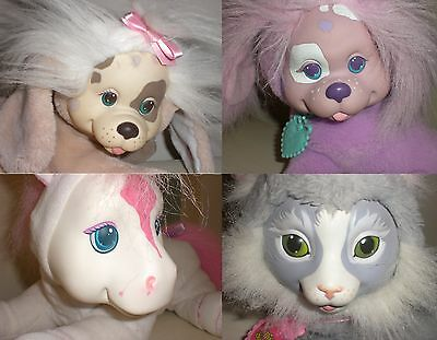 LOT 4 Hasbro Vintage 1990's Puppy/Pony/Kitty Surprise WITH 5 PUPPIES/ 3 KITTENS!