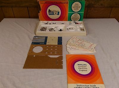 Vintage Philips Compact Electronic Engineer Kit Near Complete