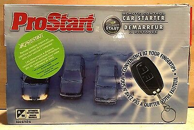 NEW PROSTART CT-3271 Automotive Automatic/Manual Remote Car Starter 3200 Series