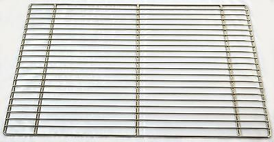 """4 Pack - 17"""" x 25"""" Icing / Cooling Rack, Nickel Plated"""