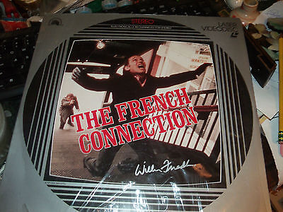 The French Connection Laser Disc Signed By William Friedkin