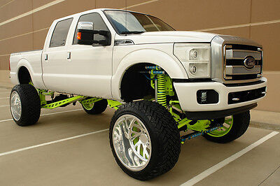 """2015 Ford F-250 PLATINUM CREW CAB SHORT BED 10""""LIFTED FX4 OFF-ROAD 2015 FORD F-250 PLATINUM CREW CAB 6.7L DIESEL 10""""LIFTED FX4 NAV CAM ROOF 1OWNER"""