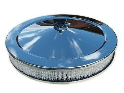 14 Inch Performance Chrome Air Filter Suit Holley 5 1/8