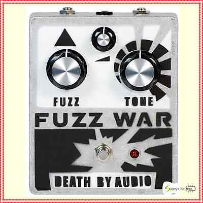 Death by Audio Fuzz War Guitar Effects Pedal Version 2