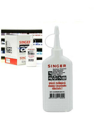 SINGER Oil Lubricant Sewing Machine Appliance All Purpose High Quality 80 cc