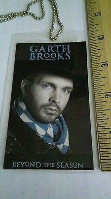 Garth Brooks Autographed Back Stage Pass 1992