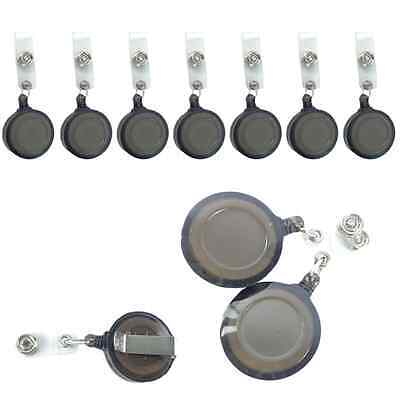 hot sale Office Supply Lot 20pcs ID Badge Holders Retractable Key Clip Retail