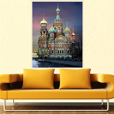 COUNTED CROSS STITCH KIT RIOLIS - St. Petersburg. Church of the Sa 30*40cm