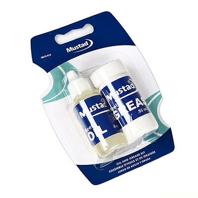 MUSTAD Reel Oil Grease Kit Fishing Reel Spinning Casting Reels