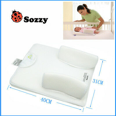 Sozzy Anti Baby Spit Milk Crib Cot Wedge Sleep Positioning Pillow Nursing Pillow