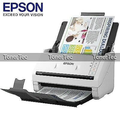 Epson WorkForce DS-530 A4 USB One Pass Duplex Color Sheet Feed Document Scanner